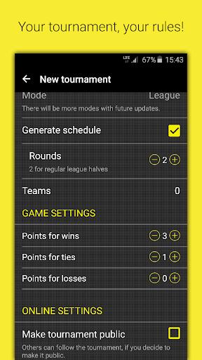 Champion – Tournament-Manager