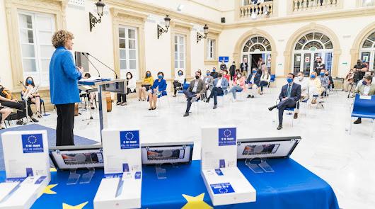 Renuevan la colaboración para impulsar la oficina Europe Direct Almería