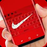 Red Nike Keyboard