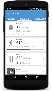 Dr. Mohan's Diabetes App- screenshot thumbnail