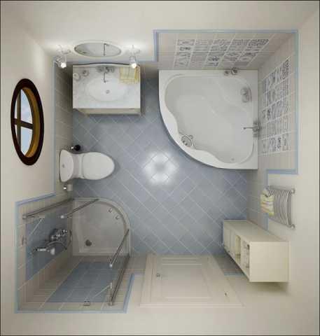 小さなバスルームのデザイン