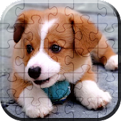 Cute Puppies Tiles Puzzle