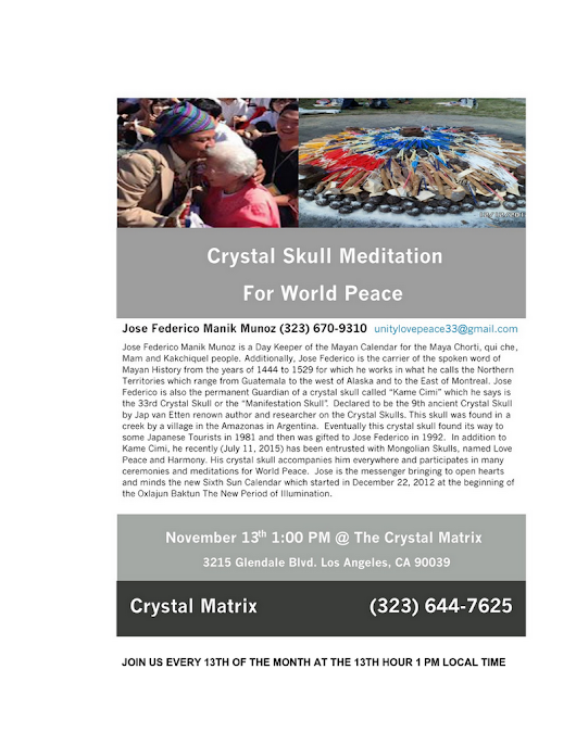 crystal skull meditation for world peace