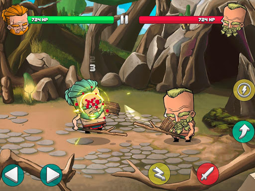 Tiny Gladiators - Fighting Tournament screenshot 14