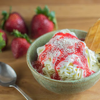 Spaghetti Ice Cream