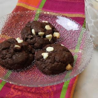 Double Chocolate Cake Mix Cookies