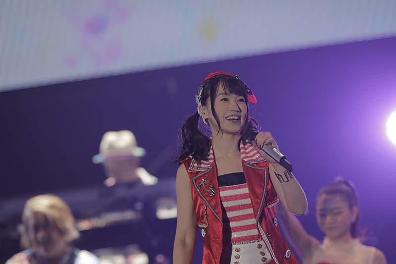 【迷迷現場】「聲優天后」水樹奈奈睽違四年再度來台 四千粉絲到場朝聖