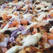 Medium Donair Pizza
