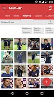 Screenshot of Miathletic Athletic Fans