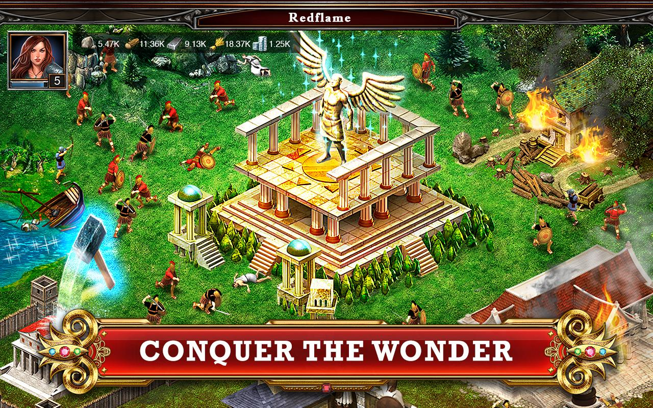 play game of war fire age online