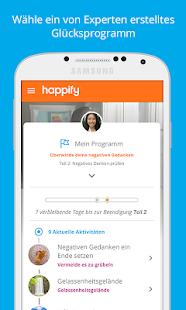 Happify: bei Ärger und Stress Screenshot