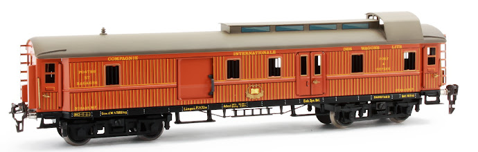 Photo: CIWL Post Office Coach no. 2445 MP