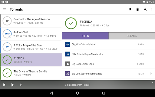 BitTorrent®- Torrent Downloads game (apk) free download for Android/PC/Windows screenshot