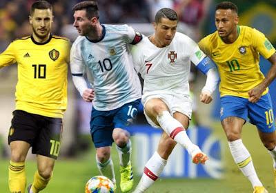 Niet Cristiano Ronaldo en niet Lionel Messi, maar wie maakte dan wel de meeste interlandgoals in onze voetbalgeschiedenis?