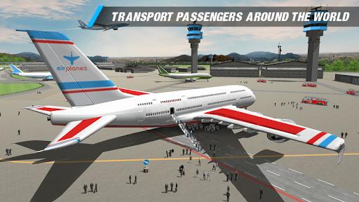 Pilot Plane Landing Simulator - Airplane games 2.0 screenshots 1