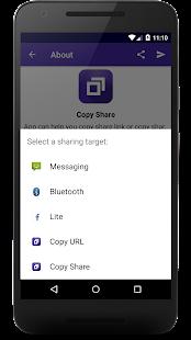 Copy Share - náhled
