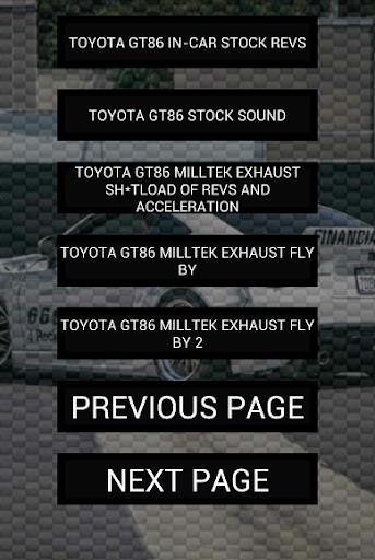 玩免費遊戲APP|下載Engine sounds of GT86 app不用錢|硬是要APP