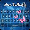 Neon Butterfly Keyboard APK