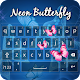 Neon Butterfly Keyboard for PC-Windows 7,8,10 and Mac