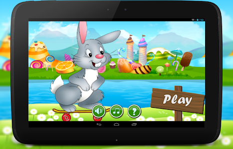 Bunny Dash Skater Adventure screenshot 0