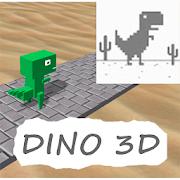 Google Chrome Dino 3D