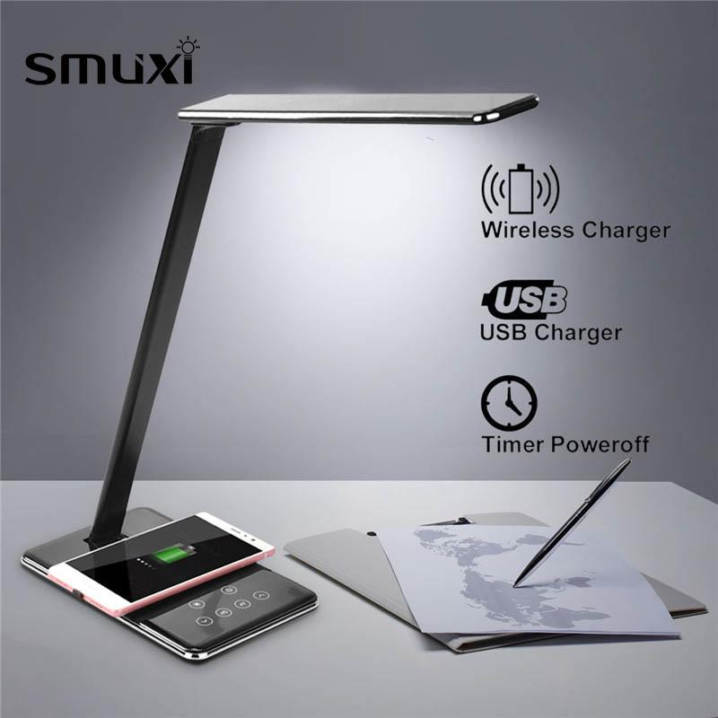 foldable desk LED lamp