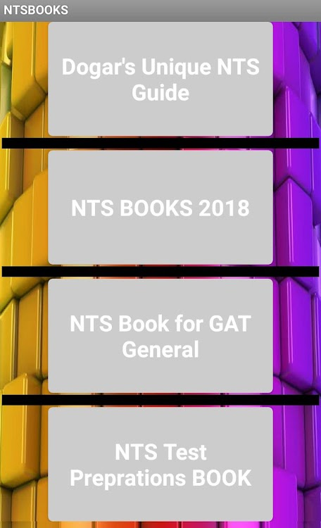 ALL NTS MCQS TEST PREPARATIONS 2019 – (Android Apps) — AppAgg