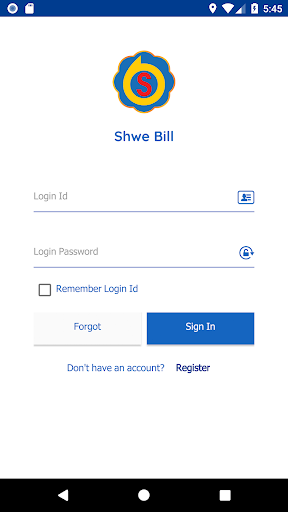 shwe bill screenshot 1