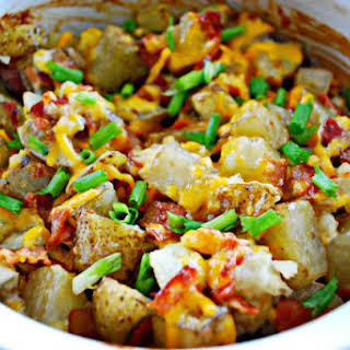 Cheesy Bacon Ranch Potatoes.