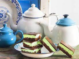 Choc Mint Slices Recipe