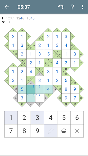 Kakuro (Cross Sums) apkpoly screenshots 6