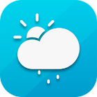 Air: Weather Forecast Widget with Clock icon