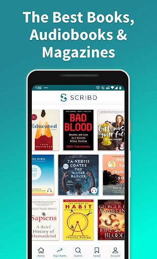 Scribd: Audiobooks & ebooks 9.12.0 screenshots n 1