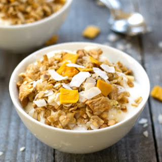 Healthy Tropical Granola