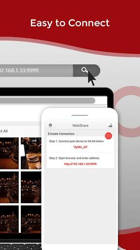 Zapya WebShare - File Sharing in Web Browser 2.0.6 Screenshots 2