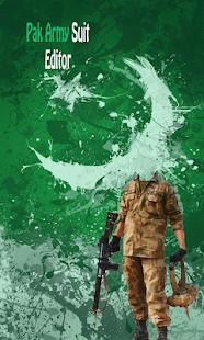 Pak Commando Army Suit Editor Ekran Görüntüsü