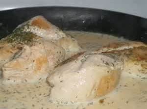 Creamy Dill Chicken Recipe