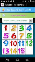 Screenshot of 15 Puzzle Free Version