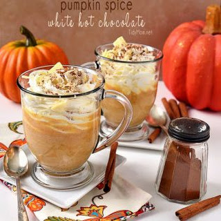 Pumpkin Spice White Hot Chocolate Recipe