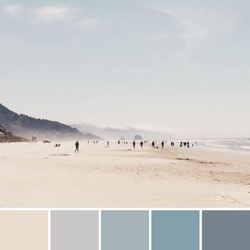 Beach Palette - Instagram Post Template