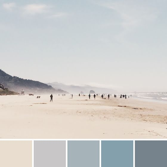 Beach Palette - Instagram Post Template