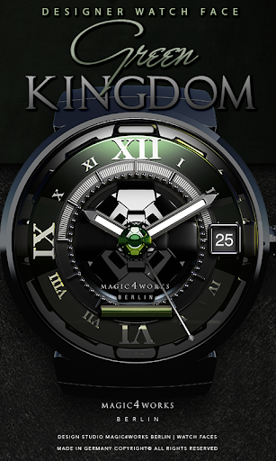 Green Kingdom Watch Face