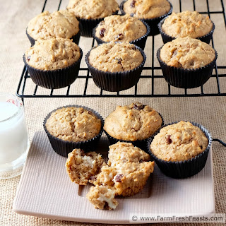 Oatmeal Raisin Cookie Butter Muffins.