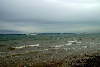 Photo: 7 Liners on the Solent 1st time ever