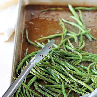Sweet and Spicy Green Beans.