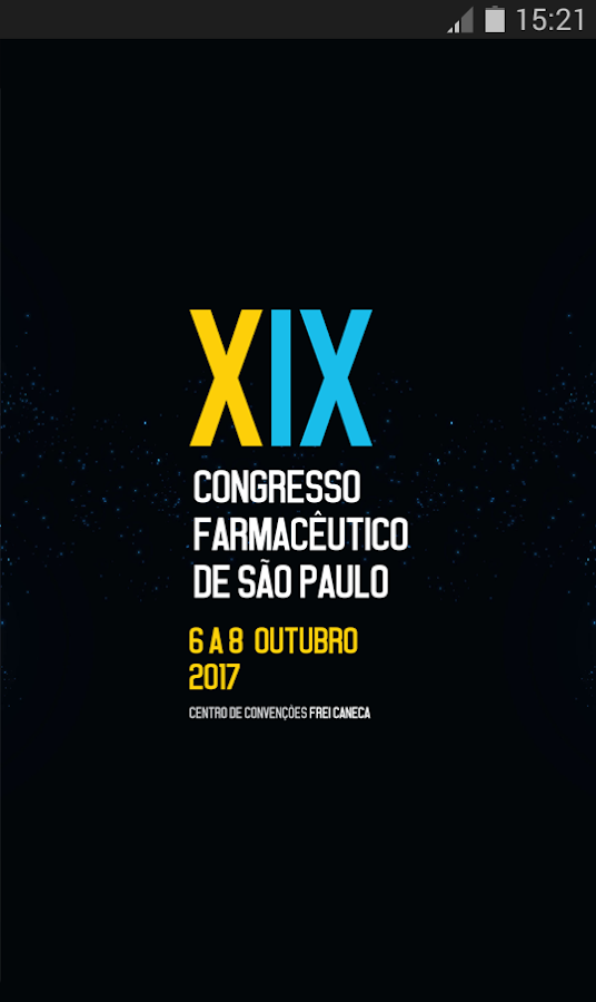 XIX Congresso CRF-SP: captura de tela
