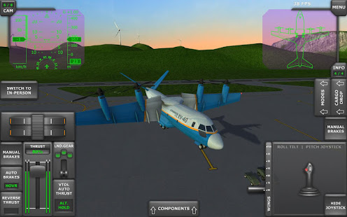 Turboprop flight simulator 3d apps on google play for Simulatore 3d