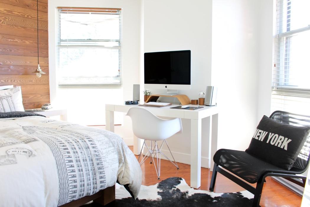 domowe biuro wsypialni