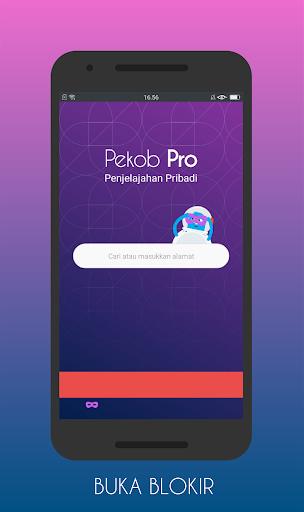 pekob pro: browser anti blokir & buka blokir 2020 screenshot 3