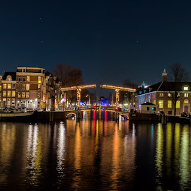 Skinny bridge in Amsterdam by Cora Lea - Buildings & Architecture Bridges & Suspended Structures (  )